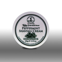 Taylor of Old Bond Street Peppermint Shaving Cream Tub 150g