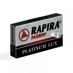 Rapira Platinum Lux DE Razor Blades 5's