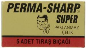 Perma-Sharp Super DE Razor Blades 5's