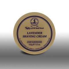 Taylor of Old Bond Street Lavender Shaving Cream Tub 150g