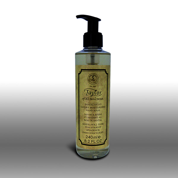 Taylor of Old Bond Street Sandalwood Luxury Hand Wash 240ml