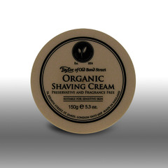 Taylor of Old Bond Street Organic Shaving Cream 150g