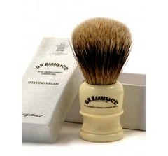 D.R Harris Best Badger Hair Shaving Brush H1