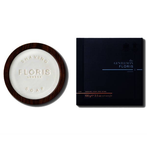 Floris No. 89 Shaving Soap In Wooden Bowl
