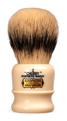 Simpsons Chubby 2 Synthetic Badger Hair Shaving Brush