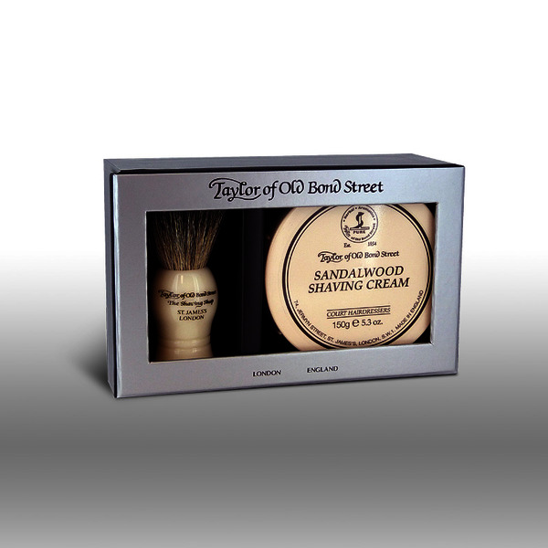 Taylor of Old Bond Street Brush and Bowl Gift Box Set