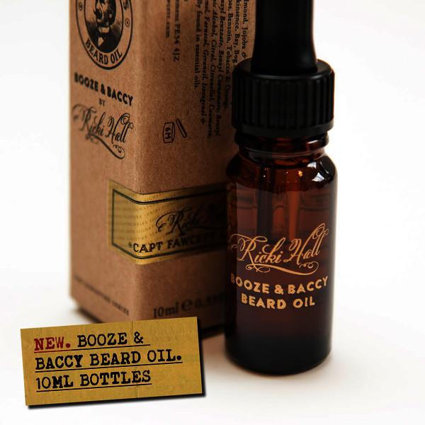 Captain Fawcett's Ricki Hall Booze & Baccy Beard Oil 10ml