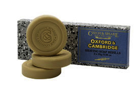 Czech & Speake Oxford & Cambridge Shaving Soap Refill 25g x 3
