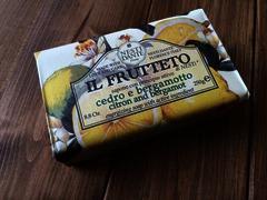 Nesti Dante Citron & Bergamot Soap 250g