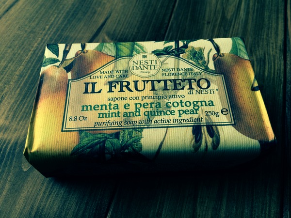 Nesti Dante Mint & Quince Pear Soap 250g