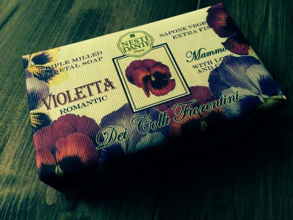 Nesti Dante Sweet Violet Soap 250g