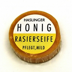 Haslinger Honey Shaving Soap 60g Puck