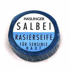 Haslinger Sage Shaving Soap 60g Puck