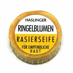 Haslinger Calendula (Marigold) Shaving Soap 60g Puck
