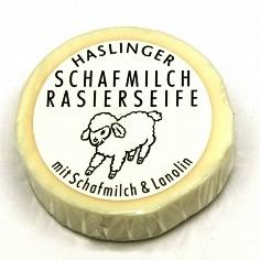 Haslinger Sheepsmilk & Lanolin Shaving Soap 60g Puck
