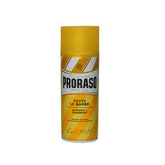 Proraso (Yellow) Cocoa and Shea Butter Shaving Foam Can 400ml