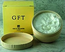 Geo F Trumper GFT Soft Shaving Cream screw thread pot 200g