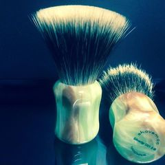 Shavemac ' The Flat Top' Shaving Brush