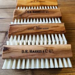 D.R Harris Real Olive Wood Large Nail Brush