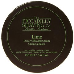 The Piccadilly Shaving Co. Lime Shaving Cream 180g