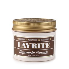 Layrite Deluxe Superhold Hold Pomade 120g