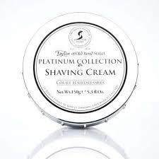 Taylor of Old Bond Street Platinum Collection Shaving Cream 150g