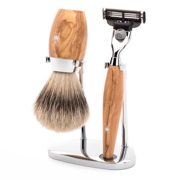 Muhle Kosmo Mach 3 Shaving Set