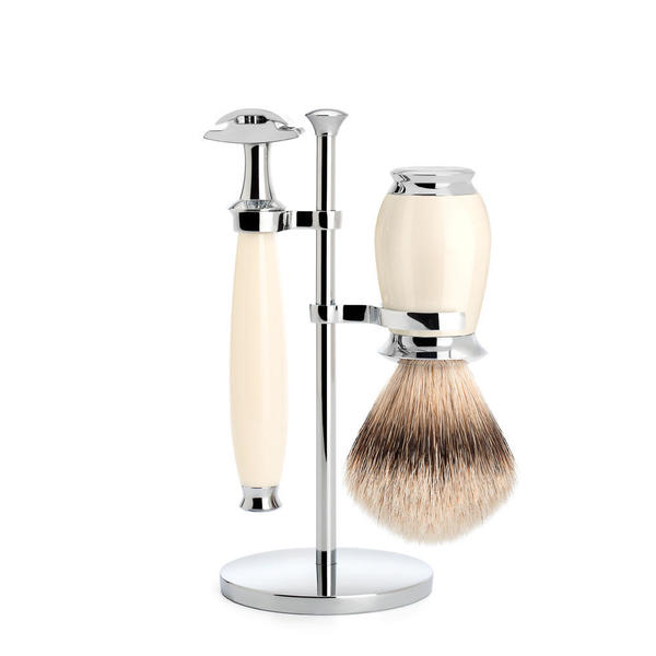 Muhle Purist Ivory Resin Shaving Set