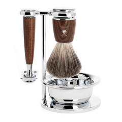 Muhle Rytmo Steamed Ash Shaving Set