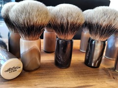 The Gentleman's Groom Room LTD Edition High Mountain Badger Shaving Brush