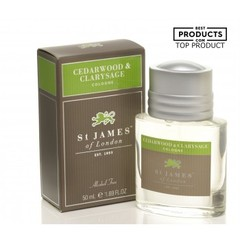 St James of London Cedarwood & Clarysage Cologne 50ml