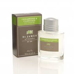 St James of London Cedarwood & Clarysage Post-Shave Gel 100ml