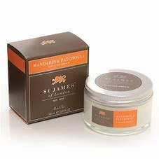 St James of London Mandarin & Patchouli Shaving Cream 150ml