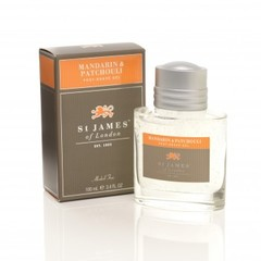 St James of London Mandarin & Patchouli Post-Shave Gel 100ml