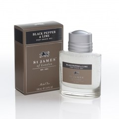 St James of London Black Pepper & Lime Post-Shave Gel 100ml