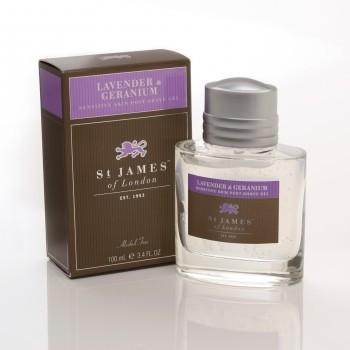 St James of London Lavender & Geranium Post-Shave Gel 100ml