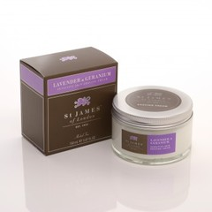 St James of London Lavender & Geranium Shaving Cream 150ml