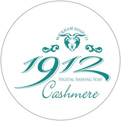 Wickham Soap Co. 1912 Cashmere Shaving Soap 140g