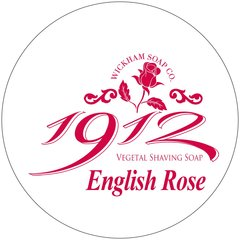 Wickham Soap Co. 1912 English Rose Shaving Soap 140g