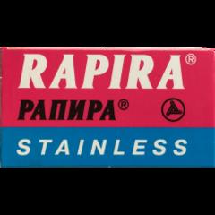 Rapira Stainless Chrome DE Razor Blades 5's