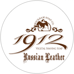 Wickham Soap Co. 1912 Russian Leather Shaving Soap 140g