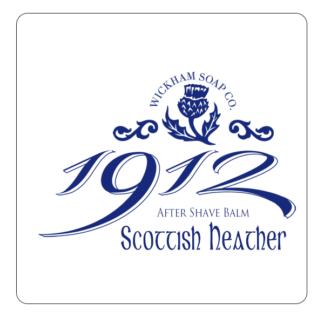 Wickham Soap Co. 1912 Scottish Heather Soothing Post Shave Balm 50ml