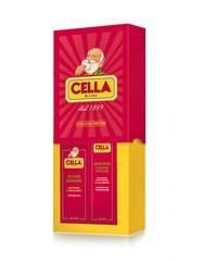 Cella Rapid Shaving Cream & Aftershave Balm Gift Set