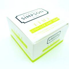 Alexander Simpson Est.1919 Lime Shaving Cream 180ml