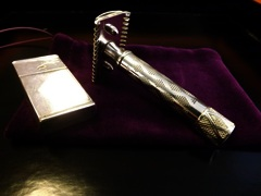 Restored Vintage Gillette Bostonian Safety Razor. SOLD