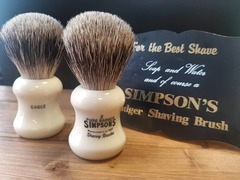 Simpsons Eagle 2 Pure Badger Shaving Brush