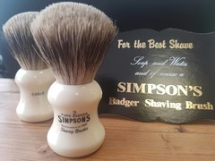 Simpsons Eagle 3 Pure Badger Shaving Brush