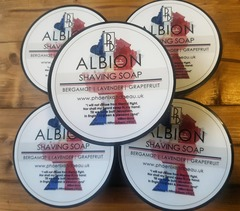 Phoenix and Beau Albion Shaving Soap 115g