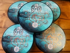 Phoenix and Beau Imperial Rum Shaving Soap 115g
