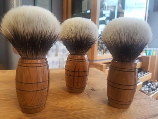 'Scotch Barrel' Shaving Brush High Mountain Badger